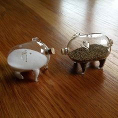 Cutest salt and pepper shakers!