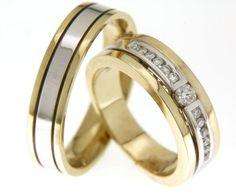Bijzondere trouwringen met diamanten!