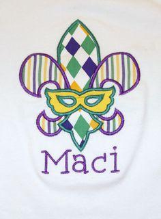 Mardi Gras Shirt, Mardi Gras Baby, Mardi Gras mask, Mardi Gras shirts for kids, New Orleans Shirt, Mardi Gras Jester
