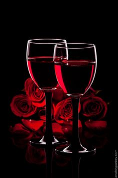 "Just a lovely image of ""Wine and Roses"" that had to be pinned."