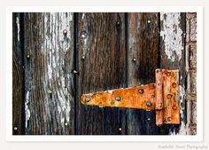 Hinge - Rustic Photograph - Still Life Photo - Color Photography - Rust Orange Brown White Black Gray Wall Art by HumboldtStreet on Etsy https://www.etsy.com/listing/44872625/hinge-rustic-photograph-still-life-photo