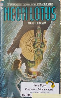 Books and Quilts: Neon Lotus by Marc Laidlaw