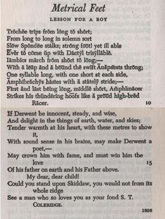 """Samuel Taylor Coleridge Poems 