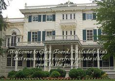 Glen Foerd on the Delaware in Philadelphia, Pennsylvania (Venues)