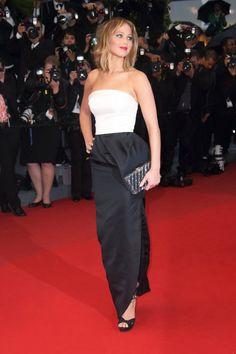 Jennifer Lawrence in Christian Dior, 2013