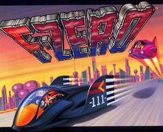 TOP 15 SNES / SFC | F-ZERO (NINTENDO, 1990, 1991)