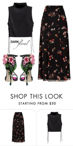 """""""Untitled #92"""" by cool-ylichk ❤ liked on Polyvore featuring RED Valentino and Dolce&Gabbana"""