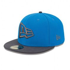New Era NE Flag 59FIFTY Fitted Cap - Snap Shot Blue / Graphite