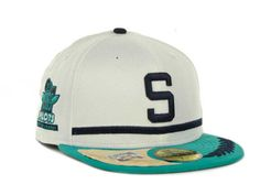 Seattle Pilots New Era MLB Cooperstown Patch 59FIFTY Cap Hats