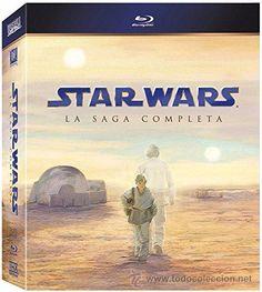 Star Wars La Saga Completa [Blu-ray] 9 DISCOS PACK UNA JOYA DESCATALOGADO!!!!!!!!!!!!!!!!!