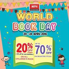 20-24 Apr 2016: MPH World Book Day