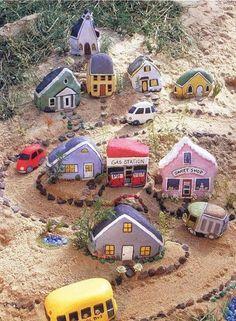 Painted Rock Village