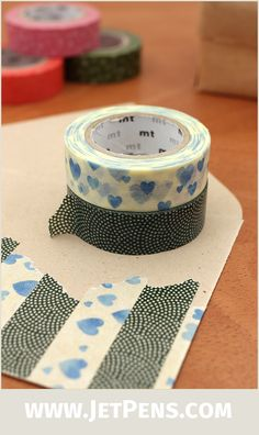 New designs of MT Washi Tapes are inspired by traditional Japanese patterns like sharkskin and plum blossoms.