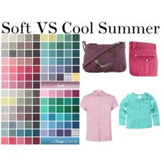 Soft VS Cool Summer