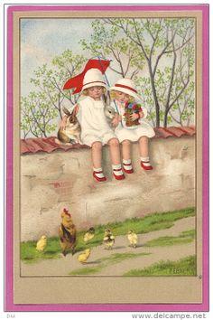 Postkaarten> Thema's> Illustratoren & Fotografen> Illustrators - Gehandtekend> Ebner, Pauli - Delcampe.net