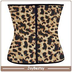 Großhandel Leopard Ann Chery Latex Training Korsetts kolumbianischen Taille Cincher