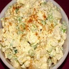 Mom s Potato Salad-  I don't add the celery. Family doesn't like it.I add some celery salt instead.  This one does not taste too sweet like some. Made 9-5-15