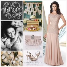 Happy Mothers Day Perfect Wedding Dress, Dream Wedding Dresses, Designer Wedding Dresses, Elegant Wedding, Bridal Dresses, Bridesmaid Dresses, Cocktail Parties, Elements Of Style, Lace Chiffon