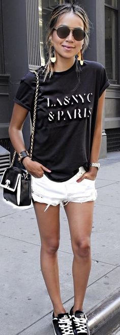 Black and White Casual Sporty                                                                             Source