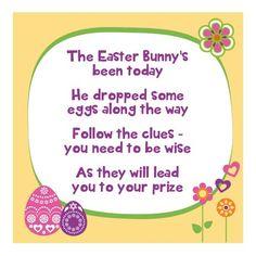 Easter Egg clue intro poem --- http://tipsalud.com -----