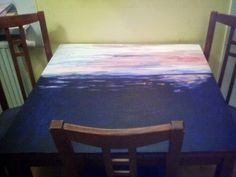 ocean kitchen table