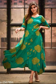 Marvel Trendy Women's Kurtis Vol 3 Fabric: Cotton / Cotton Blend / Viscose Rayon Sleeves: Variable ( Check Product For Details) Size: S . Stylish Tops For Women, Kurtis, Cod, Cold Shoulder Dress, Saree, Indian, Womens Fashion, Fabric, Sleeves