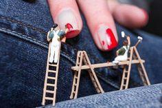 New creative art photography people fun 49 ideas Miniature Photography, Art Photography, People Photography, Miniature Calendar, Tiny World, Mini Things, People Art, Miniture Things, Nail Trends