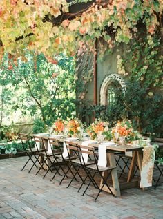 Inspiring Our Autumn Bride's With These Gorgeous Fall Foliage Weddings Fall Wedding Tablescape – Country Bouquets Floral – Amanda k Photography Outdoor Rooms, Outdoor Dining, Outdoor Gardens, Outdoor Furniture Sets, Outdoor Decor, Decoration Evenementielle, Table Decorations, Gazebos, Autumn Bride