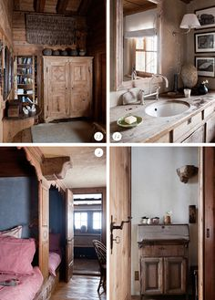 Happy Interior Blog: Home Tour: Swiss Chalet