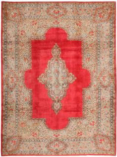View this beautiful Antique Kerman Persian Rug 43518 from Nazmiyal's fine antique rugs and decorative carpet collection. Floral Rug, Blue Medallion, Tapestry, Rugs, Beautiful Rug, Kerman, Rugs On Carpet, Persian Rug, Bohemian Rug