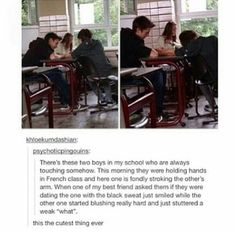"""two boys in class are always touching. asked if they're dating and one just blushes really hard and weakly stutters out """"what… Lgbt Memes, Funny Memes, Lgbt Quotes, Wife Quotes, Friend Quotes, Quotes Quotes, Ftm, Coming Out, Transgender"""