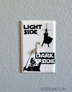Star Wars Light Switch #starwars #darthvader #lightswitch