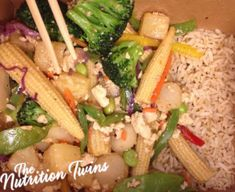 Mongolian-Style Veggies | Delicious, Satisfying, Energy Boosting, Protein-Rich Vegan Meal! | For MORE RECIPES please SIGN UP for our FREE NEWSLETTER NutritionTwins.com