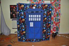 TARDIS quilt tutorial