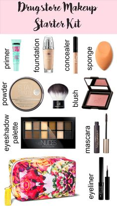 Drugstore Makeup Starter Kit - texasweettea