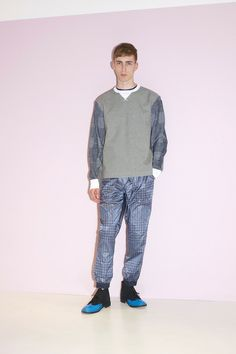 Sacai Spring 2014 Menswear Collection Slideshow on Style.com