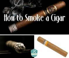 How to smoke a torch cigar