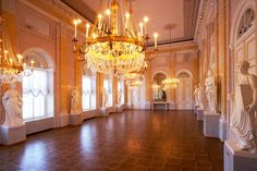 Albertina Palace, Vienna - The Habsburg Staterooms - The Hall of The Muses
