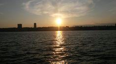 Il New Jersey visto da Riverside Park