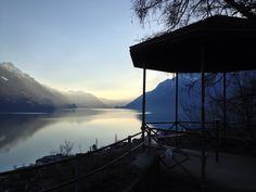 Amazing view over Lake Brienz.