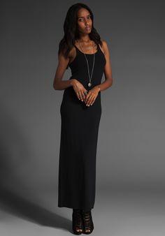 T BY ALEXANDER WANG Long Cami Dress in Black at Revolve Clothing - Free Shipping!