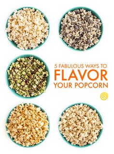 Let's be honest — when it comes to popcorn, the plain stuff is kind of boring