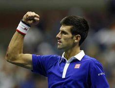 Novak Djokovic, l'indiscusso numero uno al mondo di tennis, vince il suo decimo Grande Slam agli Us Open 2015 di tennis A New York.