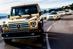 car gold Luxury Lifestyle luxury cars Mercedes Benz g class s ...