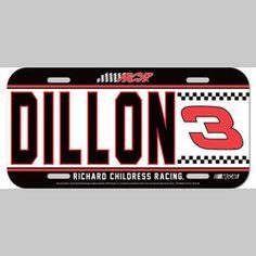 "Product ID: WC3ADLP #3 Austin Dillon 2014 ""Big Fan"" Vinyl License Plate formore Austin Dillon fan gear visit www.nascarshopping.net #NASCAR #NASCARGEAR #RACEDAY #3austindillon #gifts  #collectibles #RichardChildressRacing #RCR"