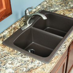 This 33 x 22 double bowl kitchen sink is made from the finest replace your worn out sink with this swan double bowl kitchen sink unlike other models this sink is made from granite natural stone so it provides you workwithnaturefo