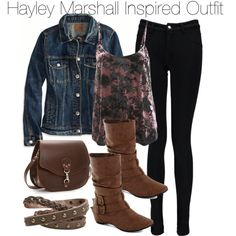 """The Originals - Hayley Marshall Inspired Outfit"" by staystronng on Polyvore"