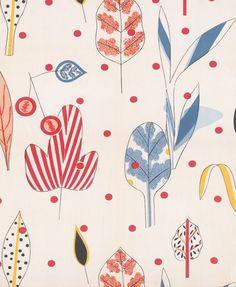 Textile Design (leaves)  victoria and albert museum