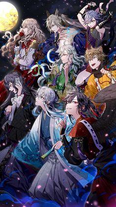 Manga Boy, Manga Anime, Anime Art, Cool Anime Guys, Handsome Anime Guys, Anime Boy Hair, Touken Ranbu, Beautiful Boys, Cute Art