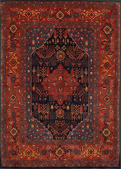 Persian Bidjar Oriental Rug #36019